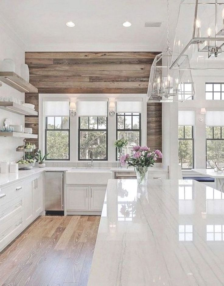 Exceptionnel 48 Best Farmhouse Kitchen Ideas On A Budget Ideal #kitchens #kitchenideas  #kitchendecor