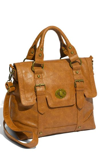 Marais 'Lady' Satchel at Nordstrom. I'm starting to envision a wardrobe of polished/classic clothes with funkier/unusual accessories. (I guess this is what most style advice suggests, but...I'm not claiming originality, I guess. :)