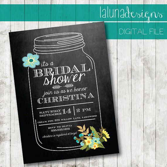 30 best Bridal shower ideas!) images on Pinterest Bridal - printable bridal shower invites