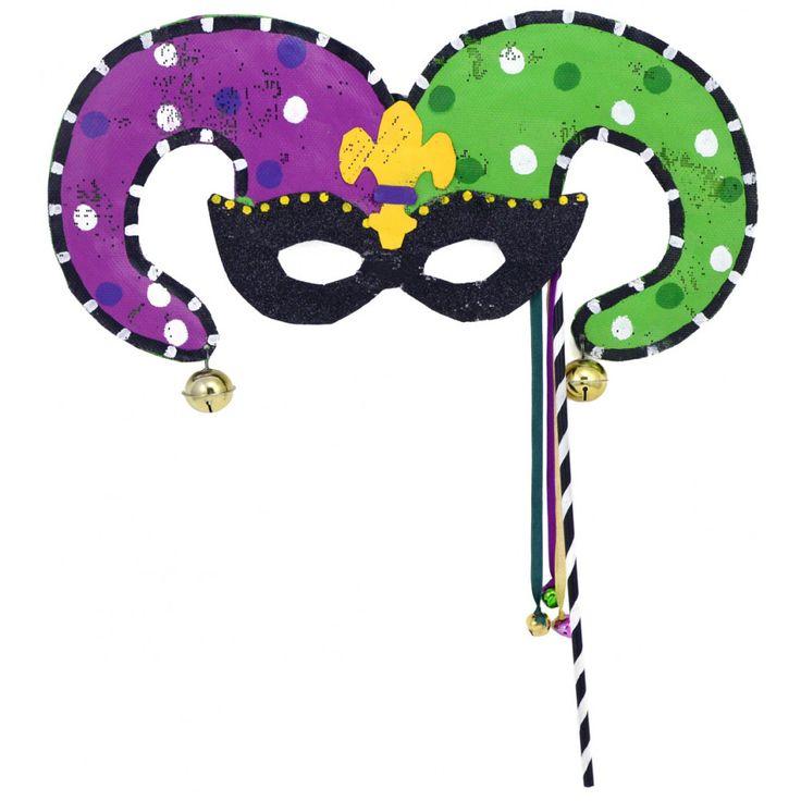Mardi Gras Jester Mask Door Hanger: Screenings