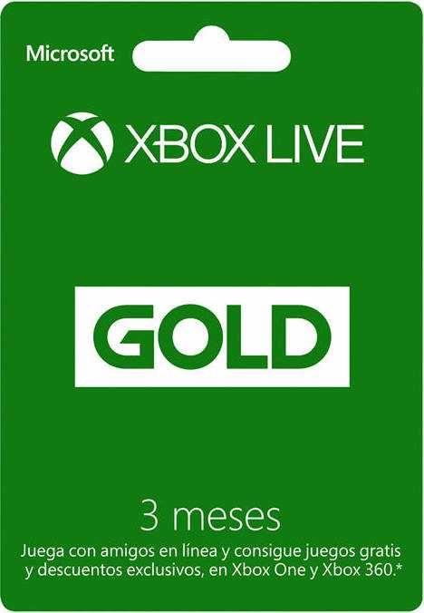 Las tiendas en linea de Amazon y Liverpool tienen en promoción las tarjeta Xbox Live Gold de 3 Meses a un precio especial de $233 para Xbox One y Xbox 360
