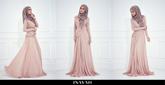 Zahra Evening Gown - Coming Soon to www.inayahcollect...  A beautifully crafted modest evening wear gown, fully lined with long sleeves, perfect for that special occasion!
