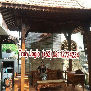 Mini Joglo Pendopo, Our Gazebo Project in desa Kapal, Badung, Bali. Size 190cm X 270 centimeters column 13cm. Made of recycled teak and hand carved beautifully as a decoration in front of the house with good roofing using terracotta tiles typically from Java. Info:  Telp/Whatsapp:(+62) 08112724234  Facebook: Arif Joglo Java Bali email: Truly.Arifsuryanto@Gmail.com Www.trulyjoglohouse.blogspot.co.id