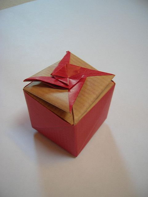 Best 107 Origami boxes images on Pinterest | DIY and ... - photo#50