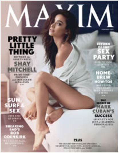 FREE Subscription to Maxim Magazine (10-Issues)