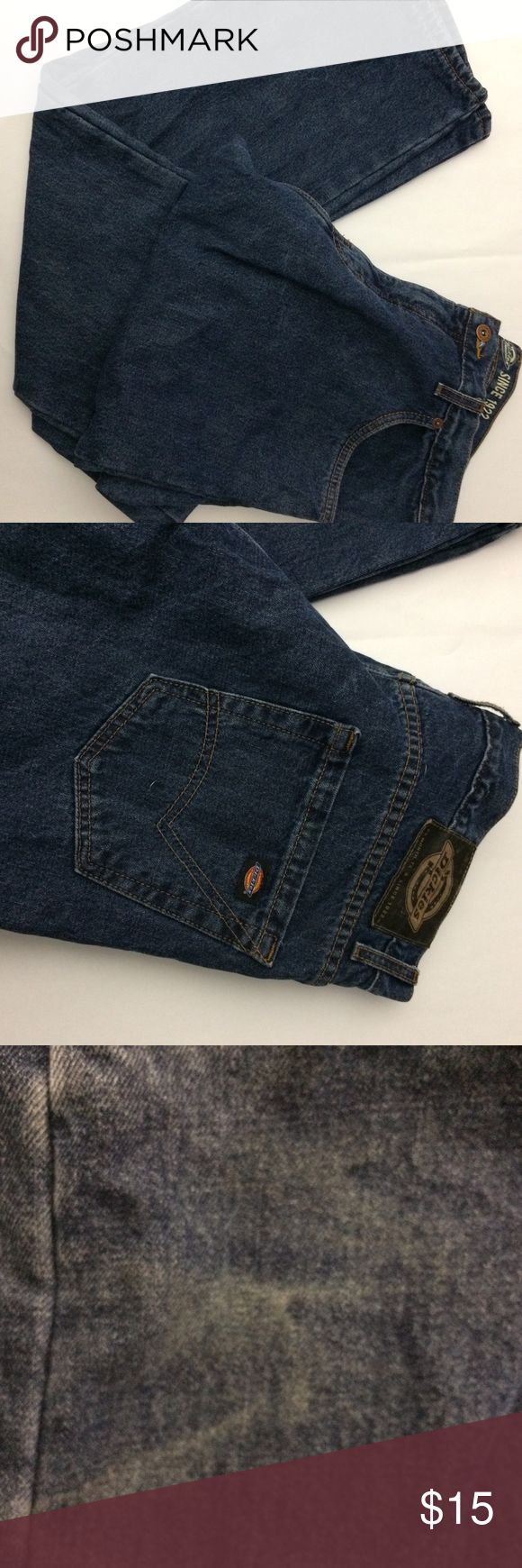 Men's Dickeys Pants Lined with Flannel Please see photos :) Dickies Jeans
