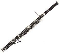 FAGOT - Fagot je dechový dřevěný hudební nástroj se strojkem z dvojitého třtinového plátku. Vznikl v Itálii v 16. století, jeho název pochází z italského fagotto – svazek, otep. Zpravidla je vyroben z javorového dřeva.