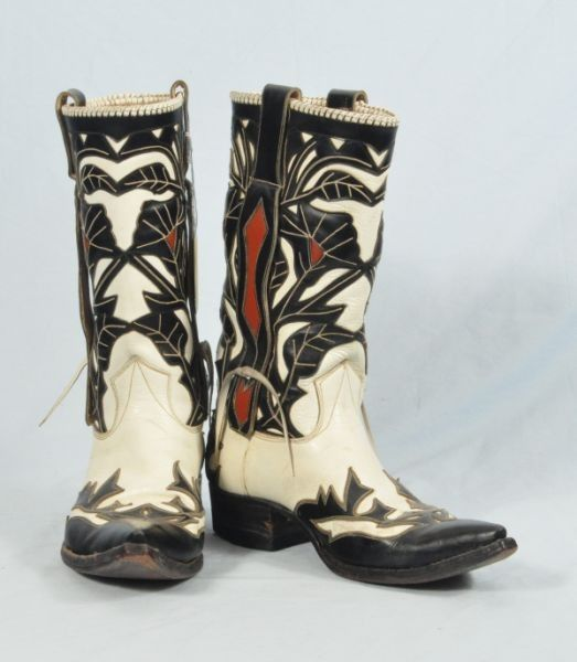 Outstanding Vintage Custom Cowboy Boots