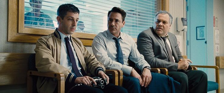 "From ""The Judge"": (from left) Jeremy Strong, Robert Downey Jr. and Vincent D'Onofrio as the Palmer brothers."