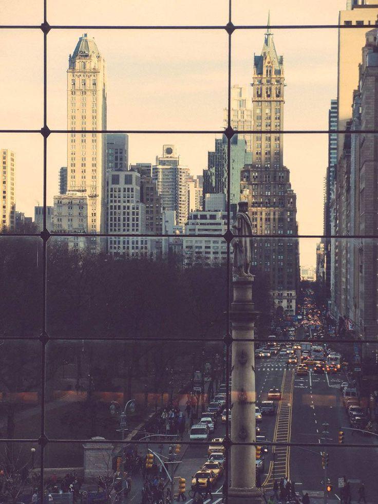Columbus Circle in NYC by Petra Veikkola Photography