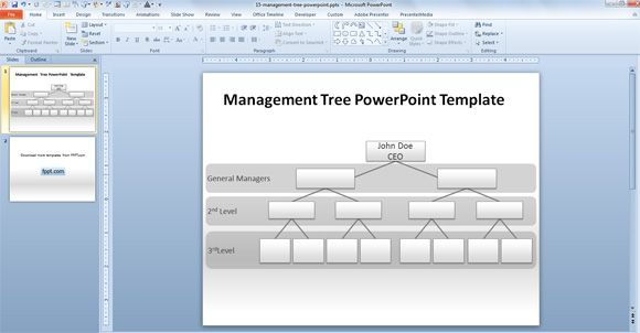 Free Writing PowerPoint Template