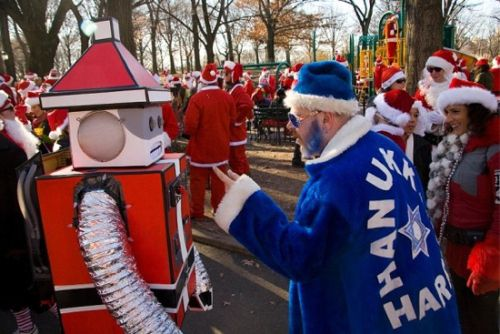 <b>One day a year in cities all around the world, Santas roam the streets for a day of fun and drinking.</b> While dressing as Saint Nick himself is the popular choice, here are some costumes that will make sure you stand out.