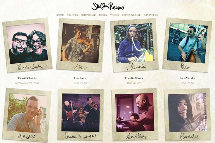 Surfin Recreo es un viaje musical que invita al oyente a ir a dar un paseo en un carrusel de imágenes y paisajes sonoros que van desde el pop hasta el jazz, la música balcánica, folklore sudamericano o bandas sonoras.