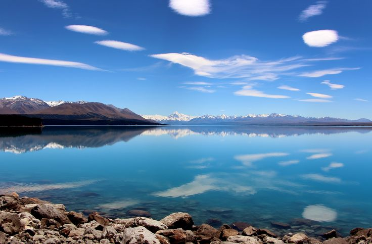 Lake Pukaki reflections. http://www.glentanner.co.nz