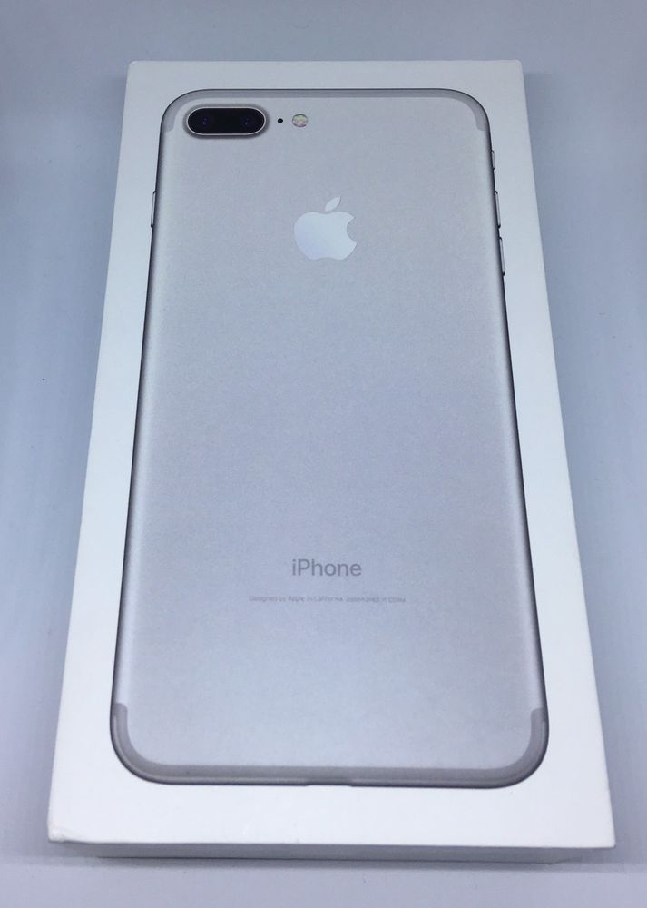 Apple Iphone 7 Plus 32gb Sprint Financed Bad Esn Cracked Silver Smartphone W Box Apple Products Apple Phone Iphone 7