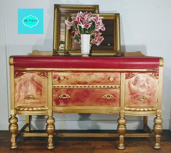 Red & Gold Buffet https://www.etsy.com/listing/537386859/red-gold-buffet?utm_campaign=crowdfire&utm_content=crowdfire&utm_medium=social&utm_source=pinterest