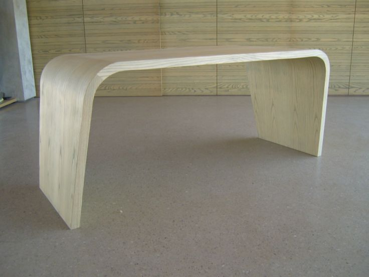 Bespoke furniture, American Ash desk
