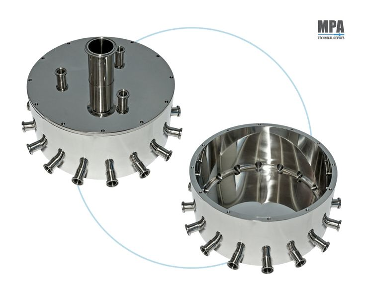 Pharmaceutical Tank Manifold for Romaco Filling Machine by MPA