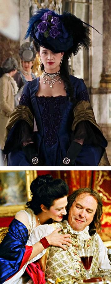 Madame Du Barry in Marie Antoinette (2006). Costume Designer: Milena Canonero