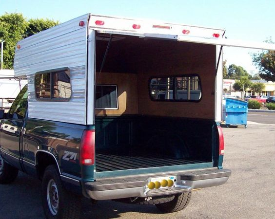 Bel Air Camper Shells Wood N Alum Rv Camper Car