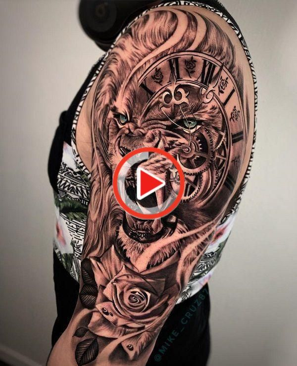 60 Cool Sleeve Tattoo Designs 3d Half Sleeve Tattoo 60 Cool