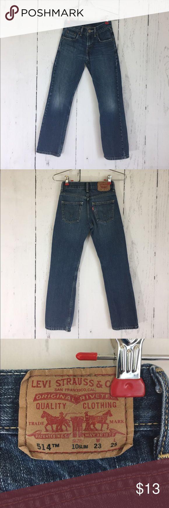 Levi's 514 Size 10 slim 23x25 Classic pair of Levi's size 10 slim; 23x25. Zipper fly. Levi's Bottoms Jeans
