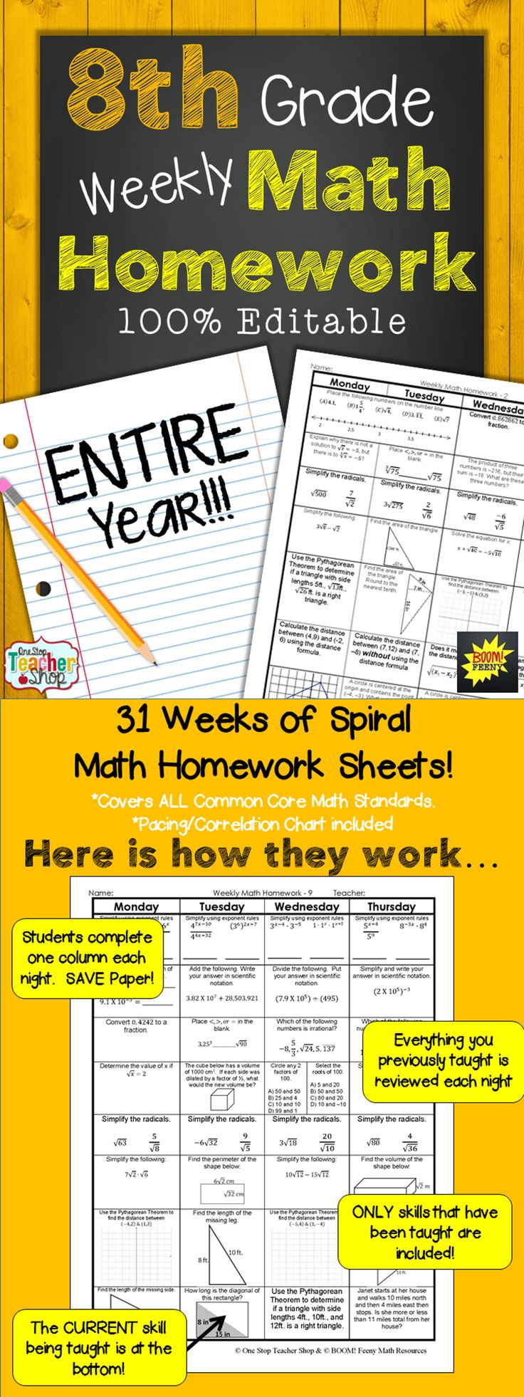 Homework help 8th grade math