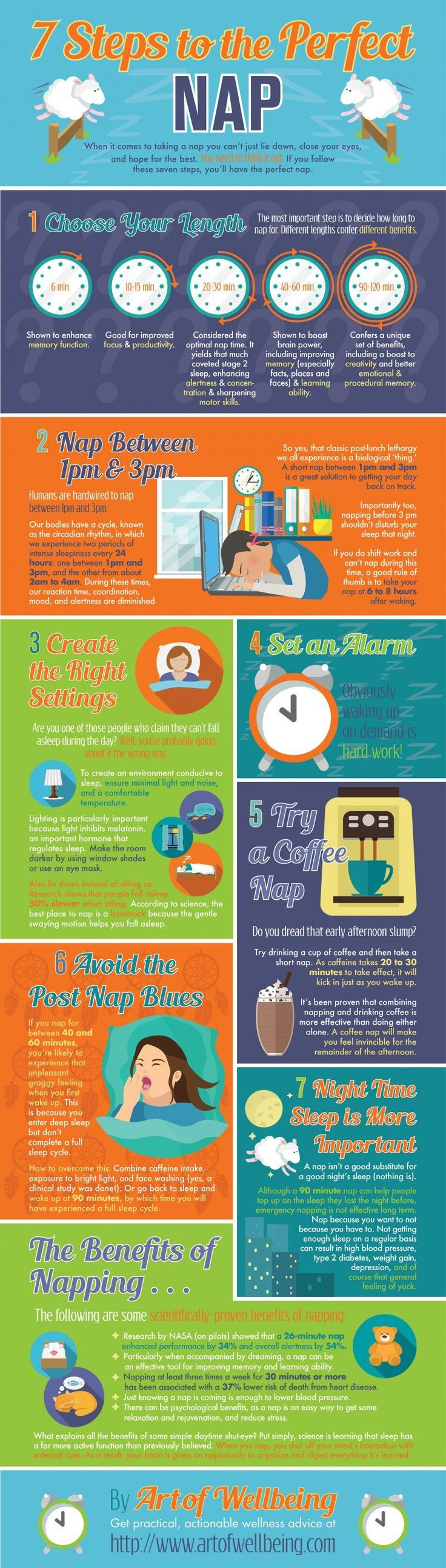 Have a nap to improve productivity and creativity | Infographic | Creative Bloq