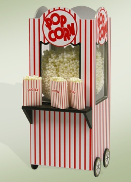 """Popcorn Machine"" an accessory for one of our Specialty Families."