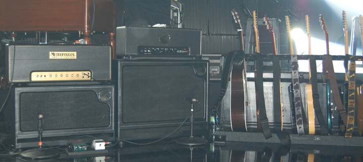 John Mayer Rig Shots 2010