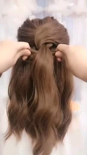#easy hairstyles curly #easyhairstyleslong #easyhairstylesshort