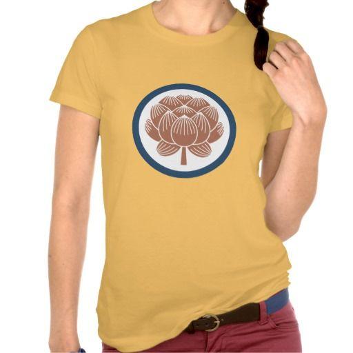 Lotus Flower Kamon Shirt