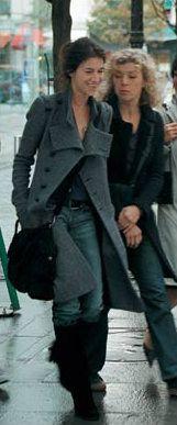 "Charlotte Gainsbourg's military boho style in ""Prete-moi ta main"""