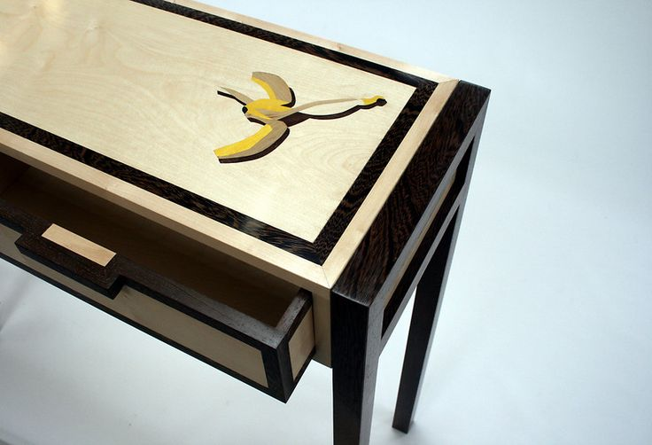 Fabulous marquetry, definitely want!