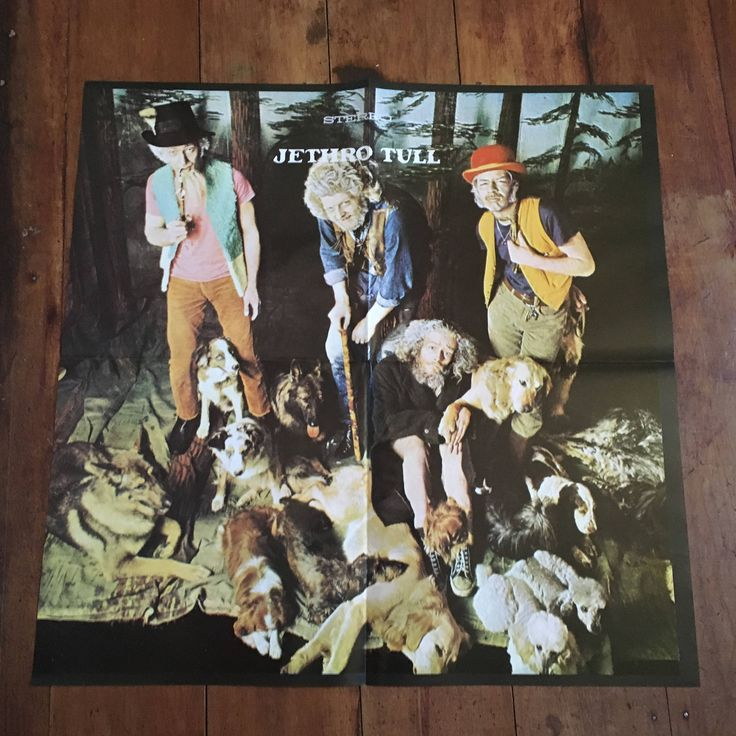 "Jethro Tull ""This Was"" 1968 Island Records Original Rare Vintage Music Poster by RockPostersTreasures on Etsy"