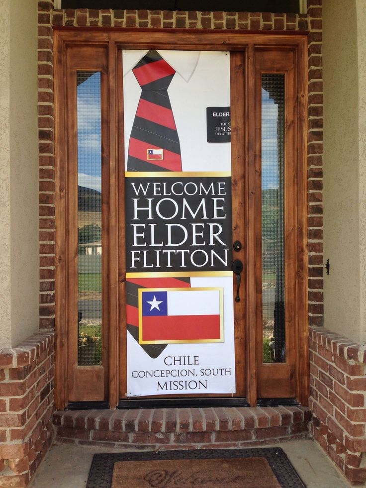 Welcome Home Banner from etsy