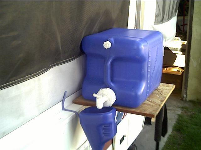 Pop Up Camper Modifications Camper Fresh Water Transfer