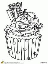 cupcake et gaufrettes