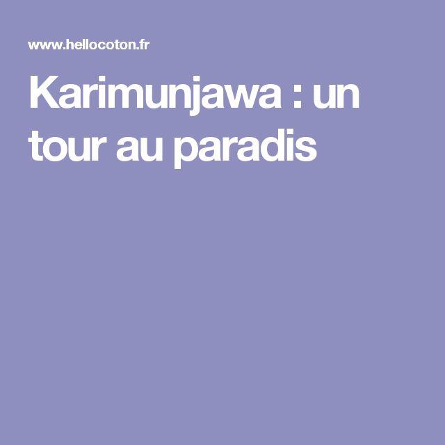 Karimunjawa : un tour au paradis