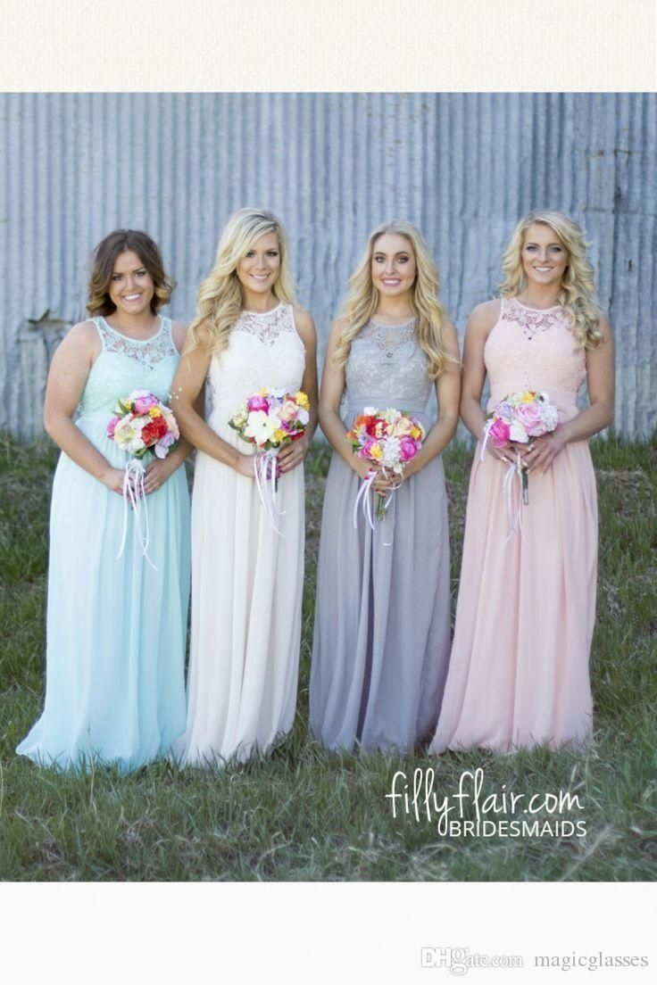 The 25 best beach dress sale ideas on pinterest wedding dresses 2016 cheap spring summer plus size country style bridesmaid dresses lace top high waist maternity chiffon ombrellifo Choice Image