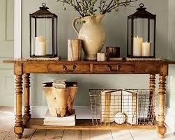 I am thinking this for my entry way...love the lanterns!