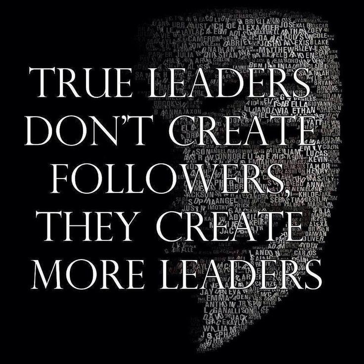 The very essence of true leadership