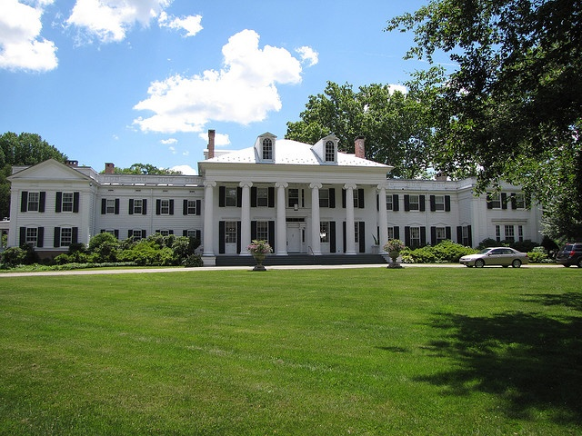 Drumthwacket, in Princeton, New Jersey is the official residence of the Governor, having been built in 1835 and purchased by the state in 1966.