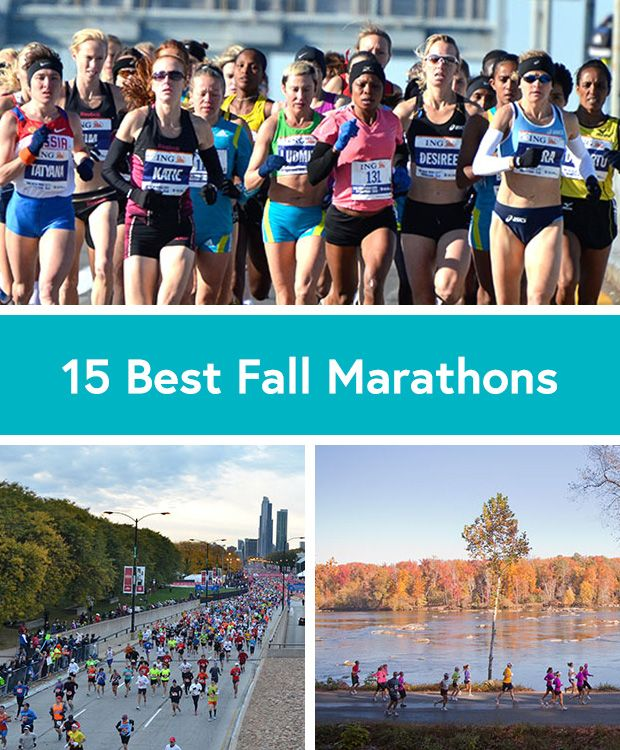 We want to put each one of these 15 fall marathons on our bucket list!