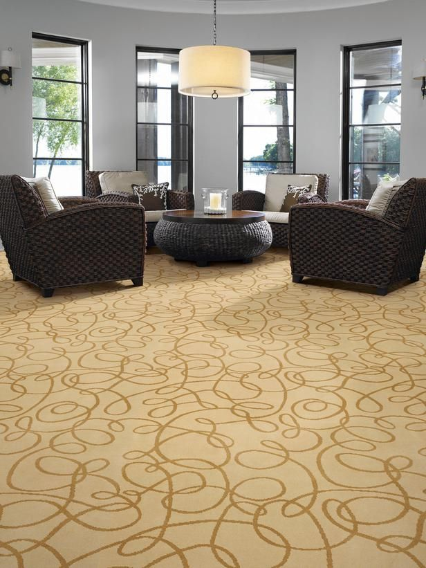 A Bold Swirling Pattern Makes This Carpet Focal Point In Any Living Space The Durable Resists Fading And Stains Coordinating Area Rugs Are