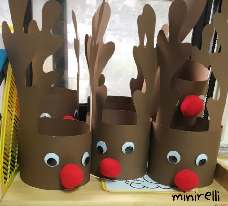 These have got to be one of my favourite things ever! They are so cute and the kids love wearing them! You may need: Brown construction paper Large Googly eyes  Large red pom-poms  Glue S…