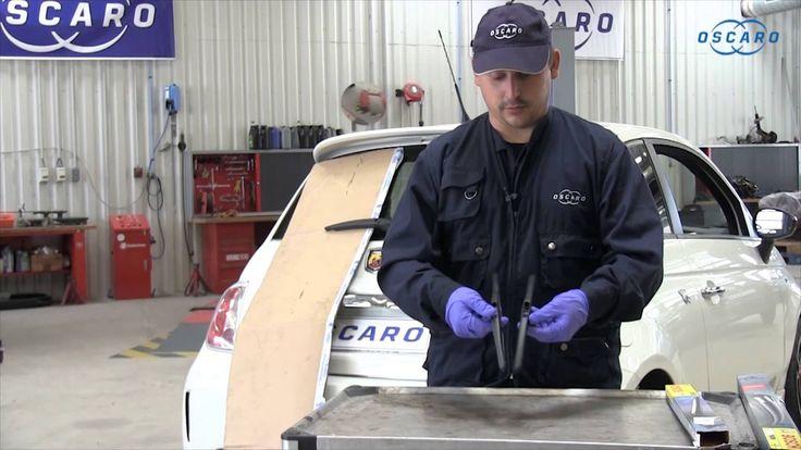 Videotutorial para aprender a sustituir la escobilla del limpiaparabrisas trasero de un Fiat 500. Paso a paso. Descubre más consejos mecánicos como estos en Oscaro.es