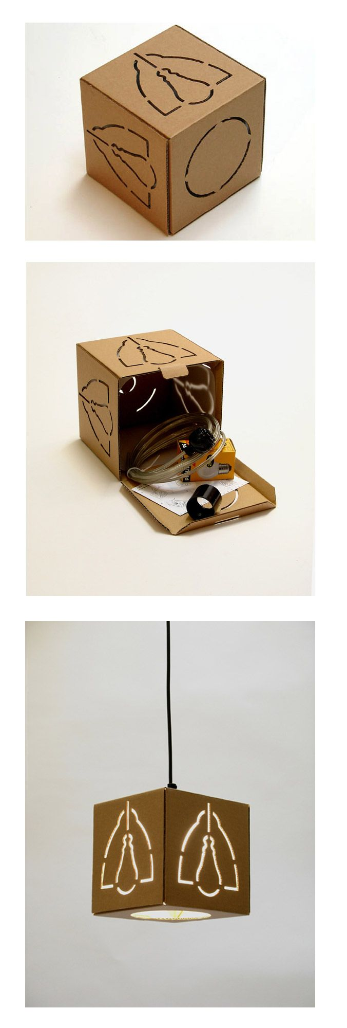 not-a-box-lamp. Cool PD