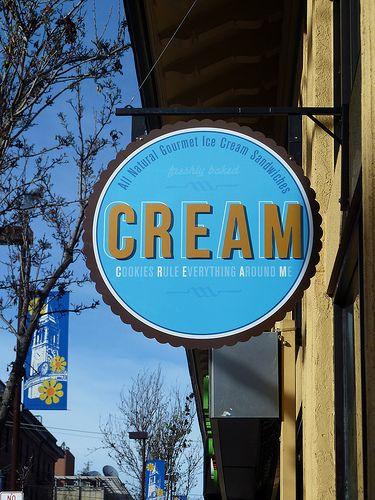 Cream - Berkeley California Best ice cream sandwiches by far!