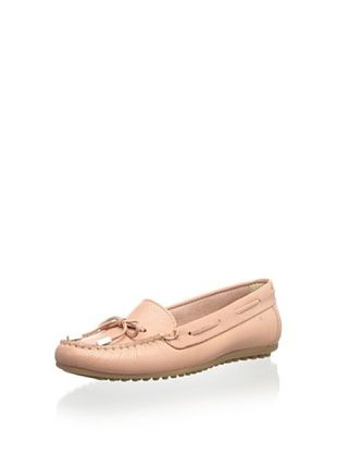 45% OFF Patricia Green Women's Becca Hidden Wedge Tie Moc (Dusty Rose)